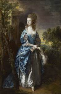 Thomas Gainsborough (1727–1788) The Hon. Frances Duncombe, 1777 Oil on canvas 92 ¼ x 61 1/8 inches Photo: Michael Bodycomb