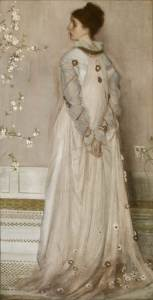 James Abbott McNeill Whistler (1834–1903) Symphony in Flesh Colour and Pink: Portrait of Mrs. Frances Leyland, 1871–74 Oil on canvas 77 ⅛ x 40 ¼ inches Photo: Michael Bodycomb