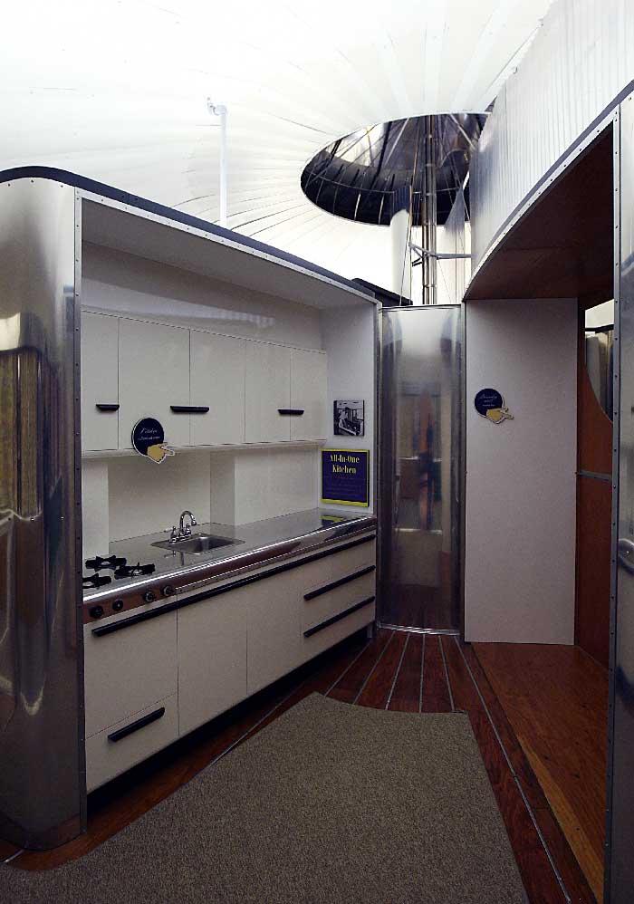 Dymaxion bathroom
